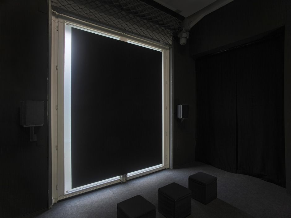 Kirstin Burckhardt, You are not alone … ever, 2020, Audiovisual installation (22:22'), Sound in collaboration with Tobias Gronau, Dimensions variable, Courtesy the artist, Photo: Achim Kukulies, Düsseldorf