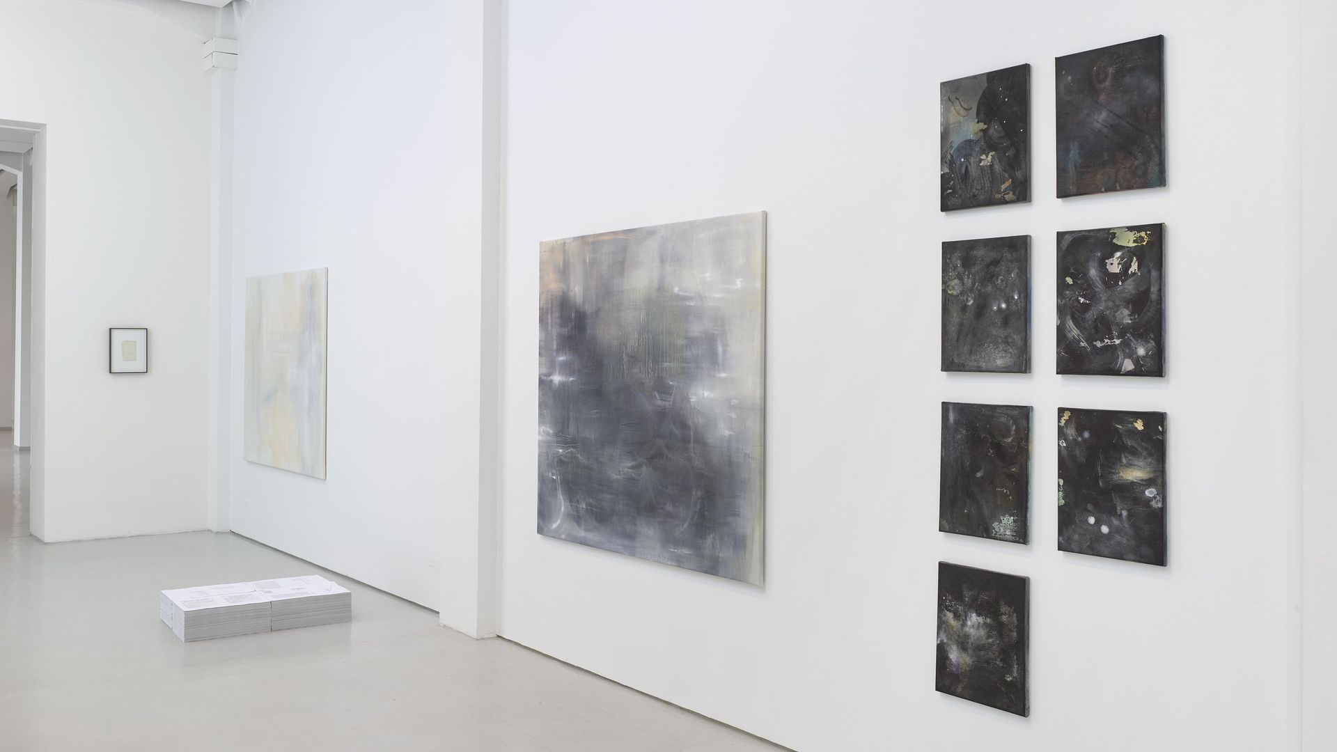 Nadia Lichtig, Ausstellungsansicht / installation view Catching the Light, KAI 10 / Arthena Foundation