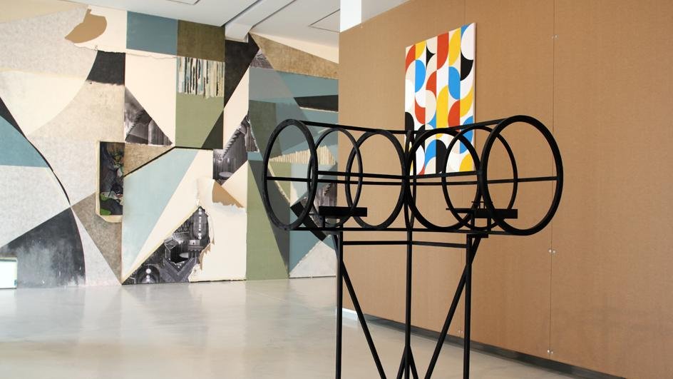 Mind the Gap, works by Berthold Reiß and Alexander Wolff, © VG-Bildkunst, installation view KAI 10